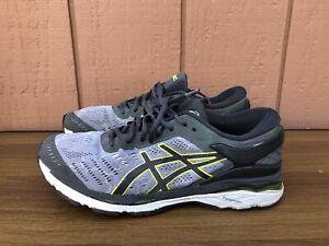 ASICS GEL-Kayano 24 Men's Size US 10 Lite-Show Grey/Yellow Running Shoes CY