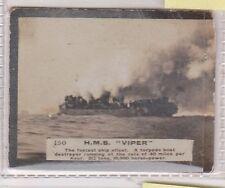 (H44-32) 1900 GB anonymous issue Cigarette card HMS VIPER no.150 (A)