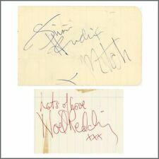 The Jimi Hendrix Experience 1967 Autographs (UK)