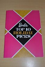 2016 Barbie Top 10 HOLIDAY PICKS Magazine