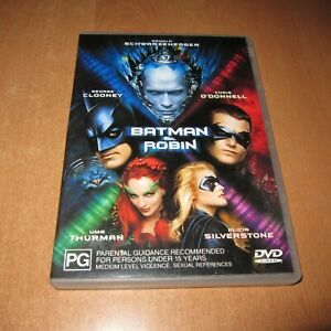 BATMAN & ROBIN ( DVD , Region 4 ) ARNOLD SCHWARZENEGGER