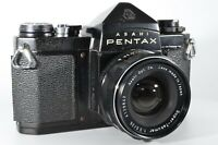 Asahi Pentax SV 35mm Film Camera w/ 35mm F3.5 Super Takumar lens from japan