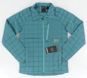Burton AK BK Lite Down Jacket in Green-Blue Slate SZ. M ~ Retail $250!