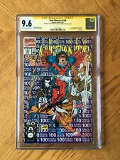 New Mutants #100 Signed by Rob Liefeld & Fabian Nicieza 1st X-Force 9.6 NM+ CGC