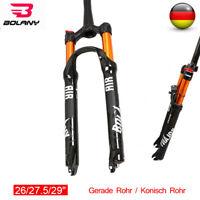 """26/27.5/29"""" BOLANY Fahrrad Federgabel Gerade /Konisch Reise100mm Für MTB Fahrrad"""