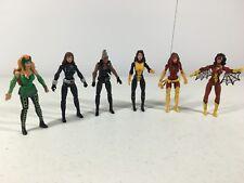 Marvel Universe Ladies Lot X-Men Storm Black Widow Enchantress Kitty Pryde More
