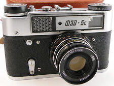 !NEW! 1990! FED-5C 5 Russian Rangefinder 35mm Camera INDUSTAR-61 L/D 2.8/50 Lens