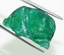 Certified Natural Top Quality 38.80 Ct  Colombian Emerald Gems Rough