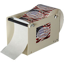 Table Top Manual Label Dispenser 5in Wide Shipping Packaging Sticker Office Home