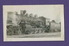 1947 Santa Fe Line ATSF 2-8-0 Steam Locomotive #802 - Vintage B&W Railroad Photo