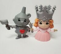 Wizard Of Oz 2013 Mcdonalds Toys Tinman & The Good Witch