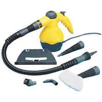 Handheld Steam Cleaner with Nozzles Squeegee Funnel Long Spray Pressurised