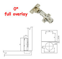 35mm Hinge, Soft Close, Clip-on Plate... Cupboard Cabinet Kitchen Door Hydraulic