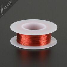 Magnet Wire, Enameled Copper, Red, 28 AWG (gauge), HPN, 155C, 1/8 lb, 250ft