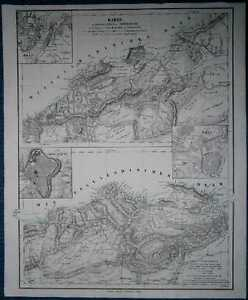 1849 Sohr Berghaus map ORAN AND CONSTANTINE PROVINCES, ALGERIA (#2)