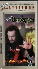 WWF Unforgiven 1998 VHS Video SEALED Undertaker Kane Inferno Austin Dude Love