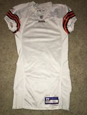 2005 NFL Reebok On Field Cleveland Browns Blank White Game Jersey Men's 44