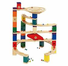 Hape Quadrilla Xcellerator Marble Run Race Maze Toy Construction Building Set