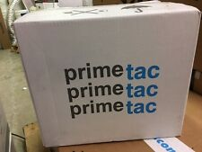 Primetac 520 2x110 CL Clear Solvent Natural Rubber Carton Sealing Adhesive Tape