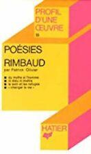 Poésies,  Rimbaud : Analyse critique