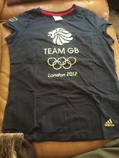 Official Team GB London 2012 Olympics Size 16 Adidas T-shirt Venue Collection