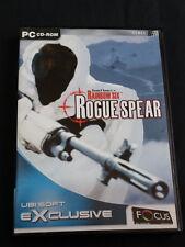 Pc Cd Rom -  Tom Clancys Rainbow Six Rogue Spear - Age 15+