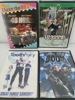 Eddie Murphy and The Rock DVD Bundle 48 Hours Trading Places Doom Tooth Fairy