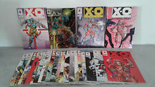 X-O MANOWAR N°0 + N°1 + RETIBUTION + N°5 à  25 + X-O DATABASE   VALIANT (EN VO)