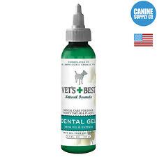 Vet's Best Dental Gel Toothpaste For Dogs (Clean Plaque + Tartar), 3.5-Ounce