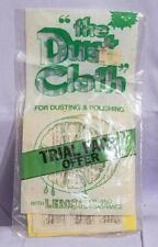 Vintage The Dust Cloth Advertising Packaging jds