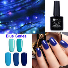 5stk/Lot Mysterious Blue Series Nail Art UV Gel Nagellack Long-Lasting Pigment