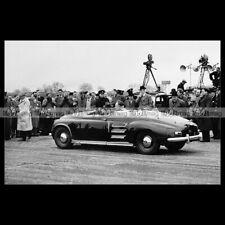 #pha.026706 Photo ROVER EXPERIMENTAL GAS TURBINE 1951 Car Auto