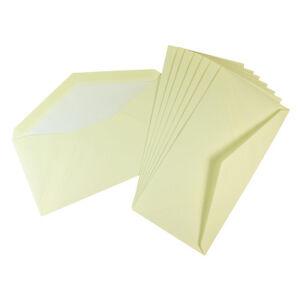 Crown Mill 25 Luxury Lined Envelopes DL Size (22cm x 11cm) CREAM