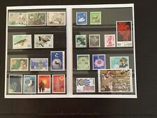 Japan Mnh 24 Stamps From 1972-1979 In Folder