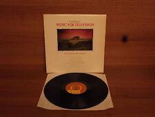 Carl Davis : Music For Television : Vinyl Album : EMI : INS 3021