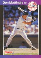 Don Mattingly 1989 Donruss #74 New York Yankees Card