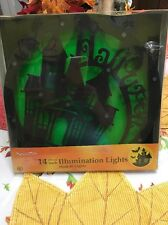 Halloween Silhouette Haunted House Light W/ Box