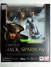 BANDAI S.H.Figuarts Pirates of the Caribbean Captain Jack Sparrow Action Figure