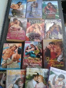 Konvolut Buchpaket Liebe Erotik Romane 9 Taschenbücher + 4Pa Historical TB