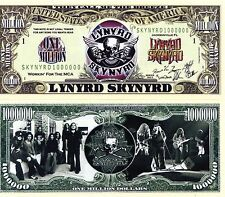Lynyrd Skynyrd Rock Band Million Dollar Novelty Money