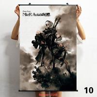 60*90CM Anime  Nier automata 2B  ART Wall Scroll Poster Home Decor Gift #17