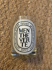 EMPTY Diptyque Mentheverte Candle Jar Glass 6.5 oz