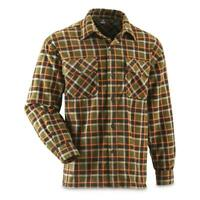 New Guide Gear Mens Fleece CPO Shirt Multiple Colors And Sizes Regular/Tall