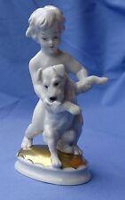 """1930 Rosenthal Schnauzer Jack Russell Fox Terrier 6"""""""