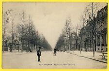cpa Nord 59 - ROUBAIX en 1905 Boulevard de PARIS BEAUCOURT à KAUFMANN de Paris