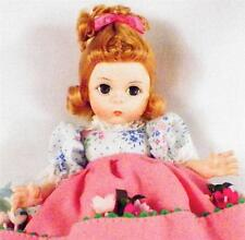 Madame Alexander Mary Mary Doll 7 in Vintage 451 Quite Contrary Watering Can Box