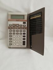 Vintage Texas Instruments Ba-35 Student Business Analyst Calculator Case Manuals