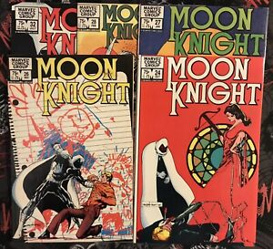 Moon Knight Comic Lot - 5 Books (24,26-28,32)