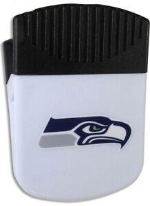 Siskiyou NFL Seattle Seahawks Chip Clip Magnet, White