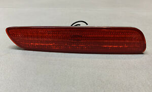 Volvo S40 V40 OEM Left Rear Red Side Marker Bumper Light Lamp Lens 30621943